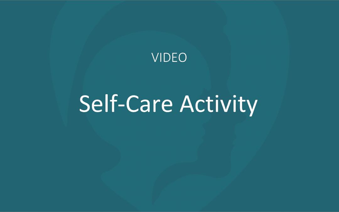 Self-Care Activity